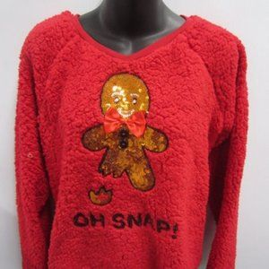"""""""Oh Snap"""" Sweater Top M"""